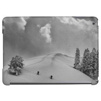Backcountry Ski Climbers in fresh powder iPad Air Covers