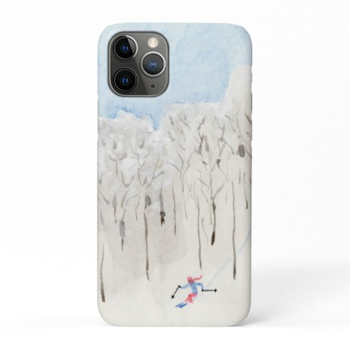 Backcountry Skier iPhone 11 Pro Case