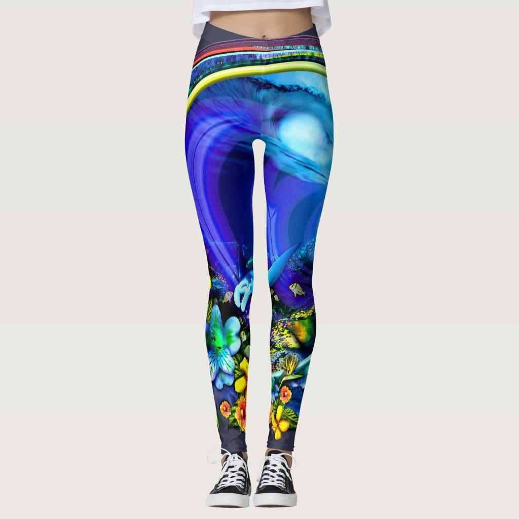 Backdoor Bliss leggings