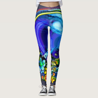 Backdoor Bliss leggings