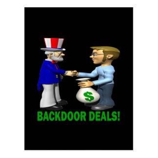 Backdoor Deals Postcard