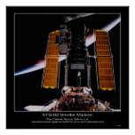 Backdr del telescopio espacial de la NASA Hubble… Posters
