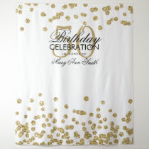 Hot Red and Gold Backdrop Gold Glitter Backdrop Decoration 50th Birthday Backdrop Burgundy and Gold Custom Printed Vinyl Backdrop #71