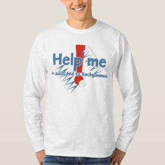Backgammon Addict's long sleeve t-shirt