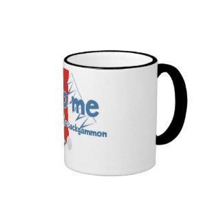 Backgammon Addict's ringer mug