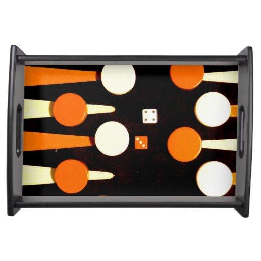 Backgammon Bandejas