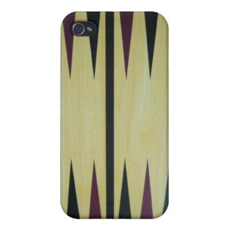 Backgammon Board i Case For iPhone 4