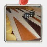 Backgammon Board Ornament