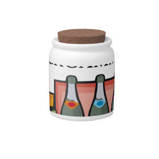 BACKGAMMON CANDY JAR