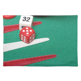 Backgammon Cloth Placemat