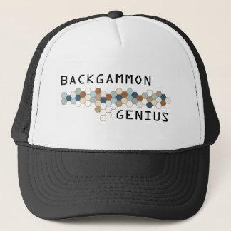 Backgammon Genius Trucker Hat