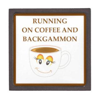 BACKGAMMON GIFT BOX