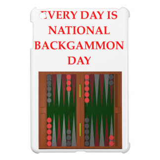 backgammon cover for the iPad mini