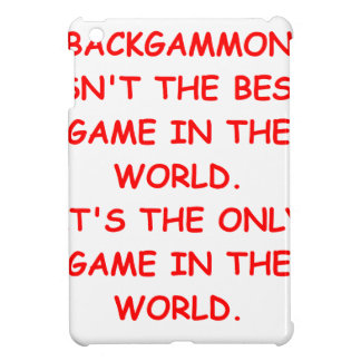 backgammon iPad mini cover