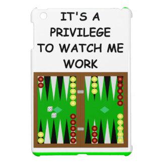 backgammon iPad mini cases