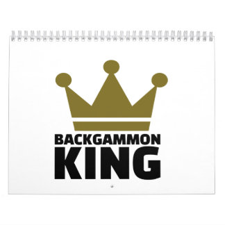 Backgammon King Calendar