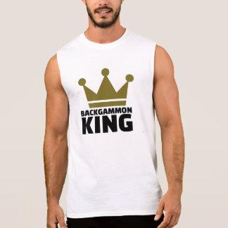 Backgammon King Sleeveless Shirt