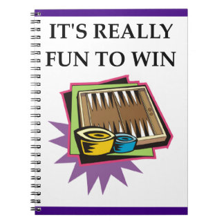 backgammon notebook