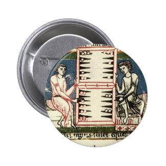 Backgammon Pin Redondo 5 Cm