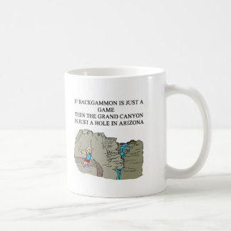 BACKGAMMON player Coffee Mug