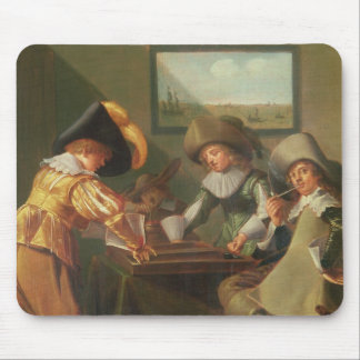 Backgammon Players, 17th century Mouse Pad