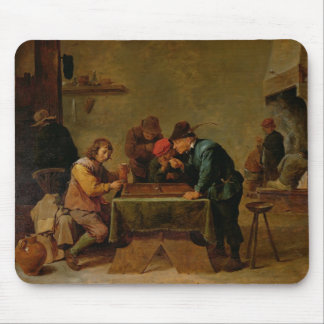 Backgammon Players, c.1640-45 Mouse Pad