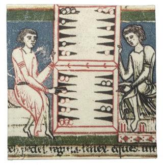 Backgammon Servilleta