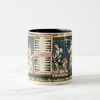 Backgammon Two-Tone Coffee Mug