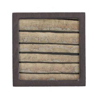 backgrond de madera cajas de regalo de calidad