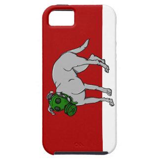 backgrond rojo y blanco del zazzle funda para iPhone SE/5/5s