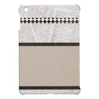 background06 NEUTRAL COLORS SCRAPBOOKING BACKGROUN iPad Mini Cases