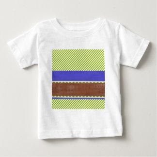 background24 GREEN WHITE BURGUNDY BLUE STRIPES DEC T-shirts