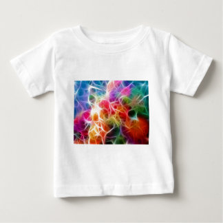 background-221391 RANDOM COLORFUL ABSTRACT DIGITAL Baby T-Shirt
