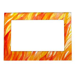 Background 3 magnetic photo frame
