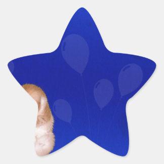 background #41 star sticker