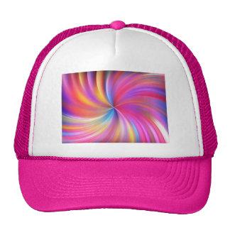background-660191 COLORFUL DIGITAL SWIRLS ABSTRAC Trucker Hat