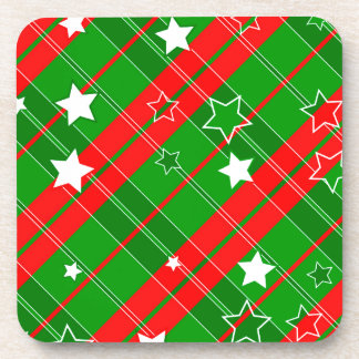 background abstrac christmas pattern coaster
