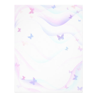 Background Butterflies Flyer