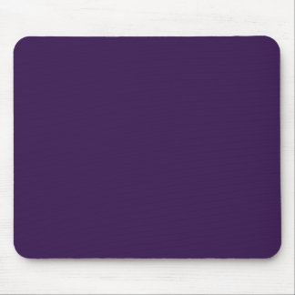 Background Color - Aubergine Mouse Pads