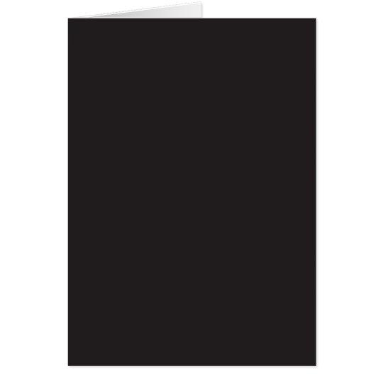 Background Color - Black Card