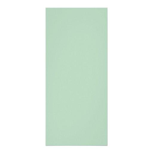 Background Color - Celadon Full Color Rack Card