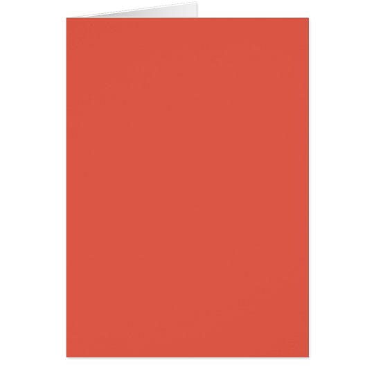 Background Color - Coral Card