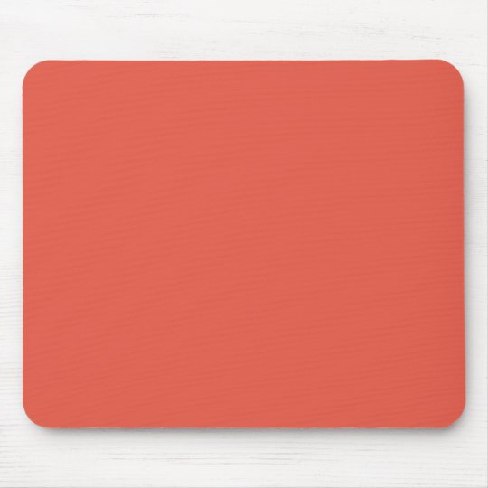 Background Color - Coral Mouse Pad