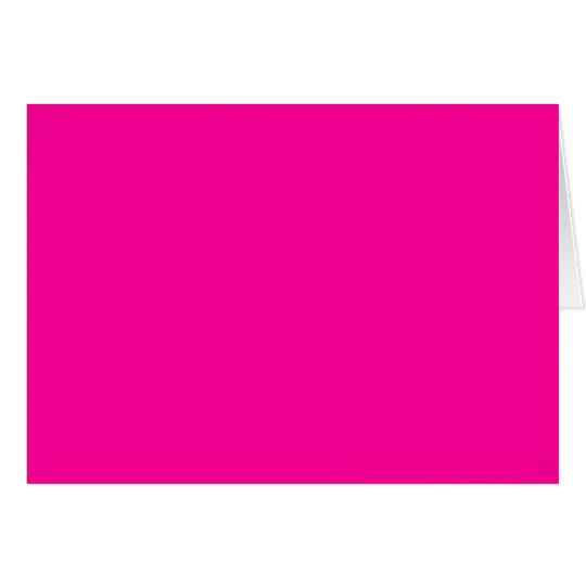 Background Color FF0099 Fuchsia Magenta Hot Pink Card