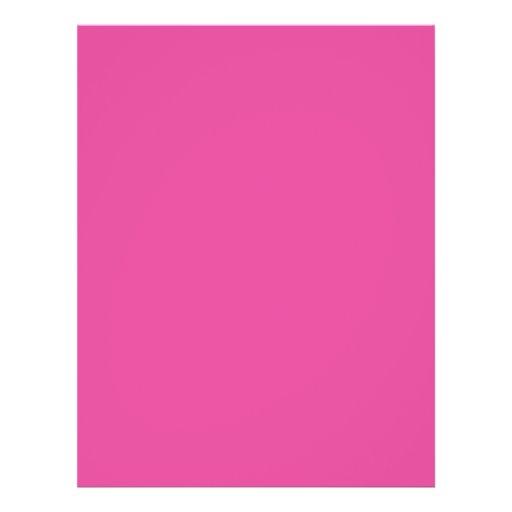 Background Color - Fuchsia Flyer