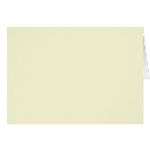 Background Color - Ivory Greeting Card