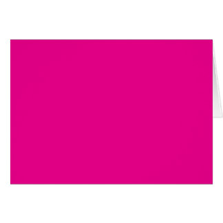 Background Color - Magenta Greeting Card