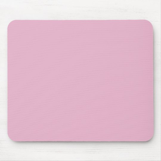 Background Color - Pale Pink Mouse Pad