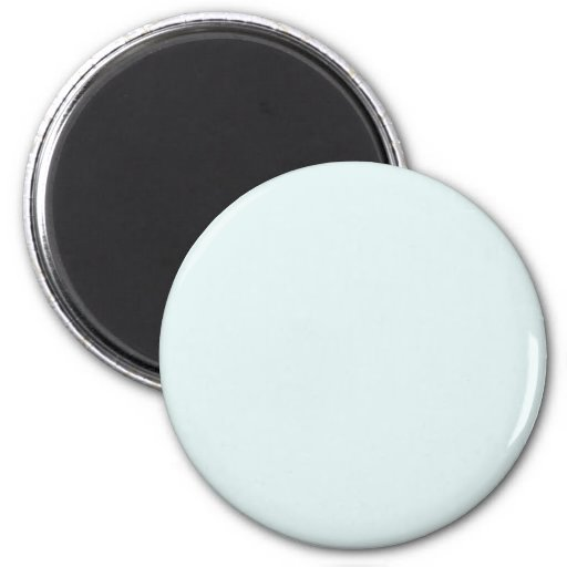 Background Color - Powder Blue Refrigerator Magnet