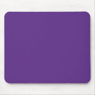 Background Color - Purple Mouse Pads